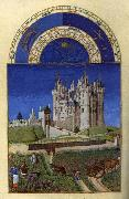 LIMBOURG brothers Les trs riches heures du Duc de Berry: Septembre (September) s oil painting picture wholesale