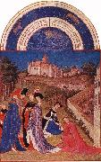 LIMBOURG brothers Les trs riches heures du Duc de Berry: Avril (April) tg oil painting picture wholesale
