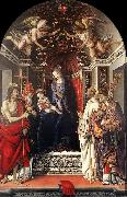 LIPPI, Filippino Signoria Altarpiece (Pala degli Otto) sg oil painting picture wholesale
