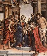 LIPPI, Filippino The Marriage of St Catherine gwt oil painting picture wholesale