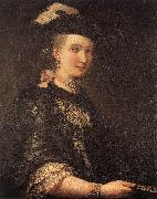 LONGHI, Alessandro Portrait of a Lady d oil painting artist