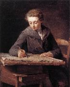 LePICIeR, Nicolas-Bernard The Young Draughtsman dg oil painting picture wholesale