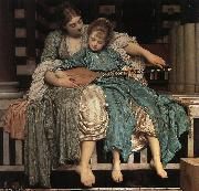 Lord Frederic Leighton Music Lesson oil painting picture wholesale