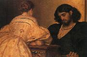 Lord Frederic Leighton Golden Hours oil painting artist