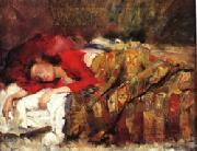 Lovis Corinth Young Woman Sleeping oil painting artist