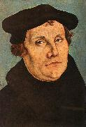 Lucas  Cranach Portrait of Martin Luther Germany oil painting reproduction