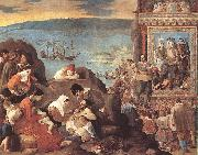 MAINO, Fray Juan Bautista The Recovery of Bahia in 1625 sg oil painting artist