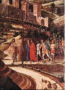 MANTEGNA, Andrea Agony in the Garden (detail) sg oil painting artist