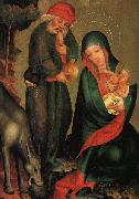 MASTER Bertram Rest on the Flight to Egypt, panel from Grabow Altarpiece g oil painting picture wholesale