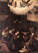 MAZZOLINO, Ludovico Adoration of the Shepherds g oil painting picture wholesale