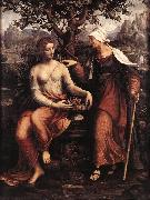 MELZI, Francesco Pomona and Vertumnus ty oil painting picture wholesale