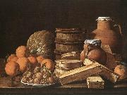 MELeNDEZ, Luis Still Life with Oranges and Walnuts ag oil painting picture wholesale