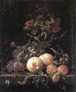 MIGNON, Abraham Still-Life with Fruits sg oil painting picture wholesale