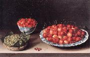 MOILLON, Louise Still-Life with Cherries, Strawberries and Gooseberries ag oil painting picture wholesale
