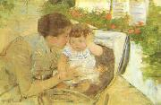 Mary Cassatt Susan Comforting the Baby oil painting picture wholesale