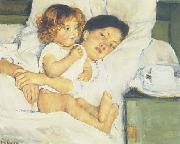 Mary Cassatt Breakfast in Bed oil painting picture wholesale