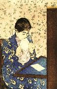 Mary Cassatt The Letter oil painting picture wholesale