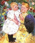 Mary Cassatt In the Garden ff oil painting artist