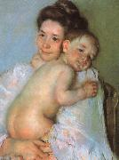Mary Cassatt Mother Berthe Holding her Baby oil painting picture wholesale