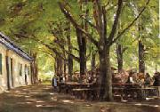 Max Liebermann Country Tavern at Brunnenburg oil painting picture wholesale
