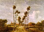 Meindert Hobbema Avenue at Middleharnis oil painting picture wholesale