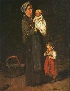 Mihaly Munkacsy Mother and Child  ddf oil painting picture wholesale