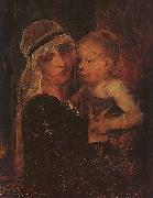 Mihaly Munkacsy Mother and Child oil painting picture wholesale