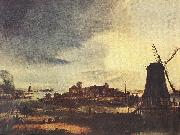 NEER, Aert van der Landscape with Windmill sg oil painting picture wholesale