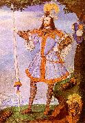 Nicholas Hilliard Portrait of George Clifford The Earl of Cumberland oil painting artist