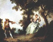 Nicolas Lancret The Swing oil painting picture wholesale