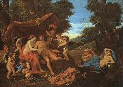 Nicolas Poussin Mars and Venus oil painting picture wholesale