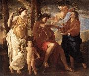 Nicolas Poussin Inspiration of the Poet oil painting picture wholesale