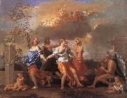 Nicolas Poussin Dance to the Music of Time oil painting picture wholesale