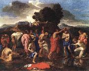 Nicolas Poussin Sacrament of Baptism oil painting picture wholesale