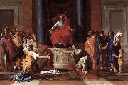 Nicolas Poussin Judgment of Solomon oil painting picture wholesale