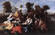 Nicolas Poussin Finding of Moses oil painting picture wholesale