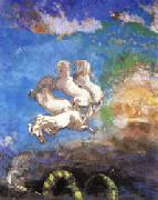 Odilon Redon Apollo's Chariot oil painting