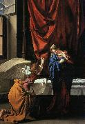 Orazio Gentileschi Annunciation   77 Germany oil painting reproduction