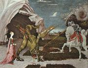 Paolo Ucello St.George and the Dragon oil painting