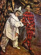 Paul Cezanne Mardi Gras Germany oil painting reproduction