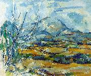 Paul Cezanne Montagne Sainte-Victoire Germany oil painting reproduction
