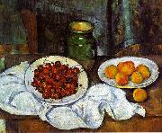 Paul Cezanne Cherries and Peaches oil painting picture wholesale