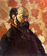 Paul Cezanne Self Portrait on a Rose Background Germany oil painting reproduction
