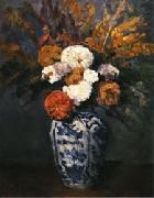 Paul Cezanne Dahlias oil painting picture wholesale
