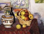 Paul Cezanne Still Life with Soup Tureen oil painting picture wholesale