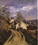 Paul Cezanne Dr Gachet's House at Auvers oil painting picture wholesale