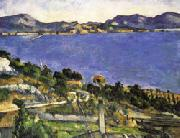 Paul Cezanne L'Estaque oil painting picture wholesale