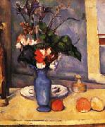 Paul Cezanne The Blue Vase oil painting picture wholesale