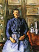 Paul Cezanne Woman with Coffee Pot oil painting picture wholesale