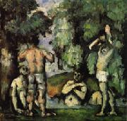 Paul Cezanne Five Bathers oil painting picture wholesale